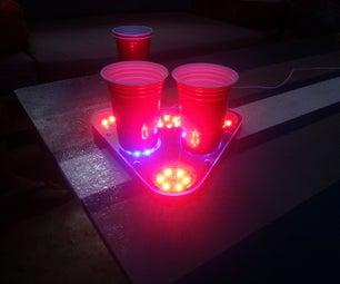 RGB Beer Pong Pods