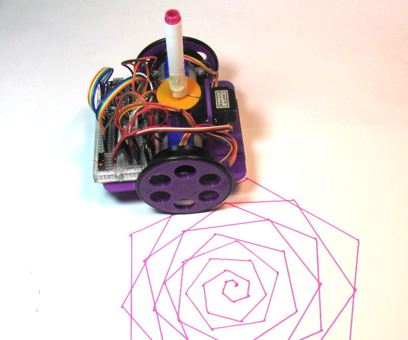 Low-Cost, Arduino-Compatible Drawing Robot