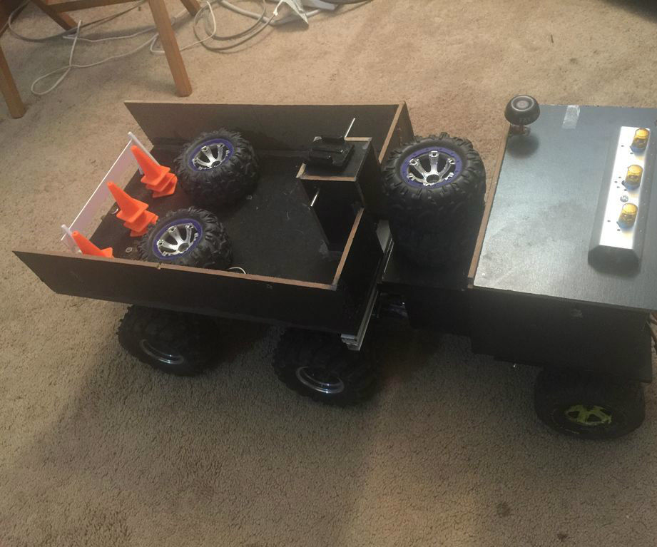 Diy Custom Rc Dump Truck With Fpv
