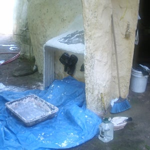 Plastering With Thin-set Mortar