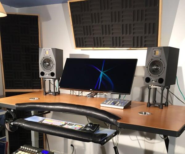 DIY Ergonomic Sound Design Workstation