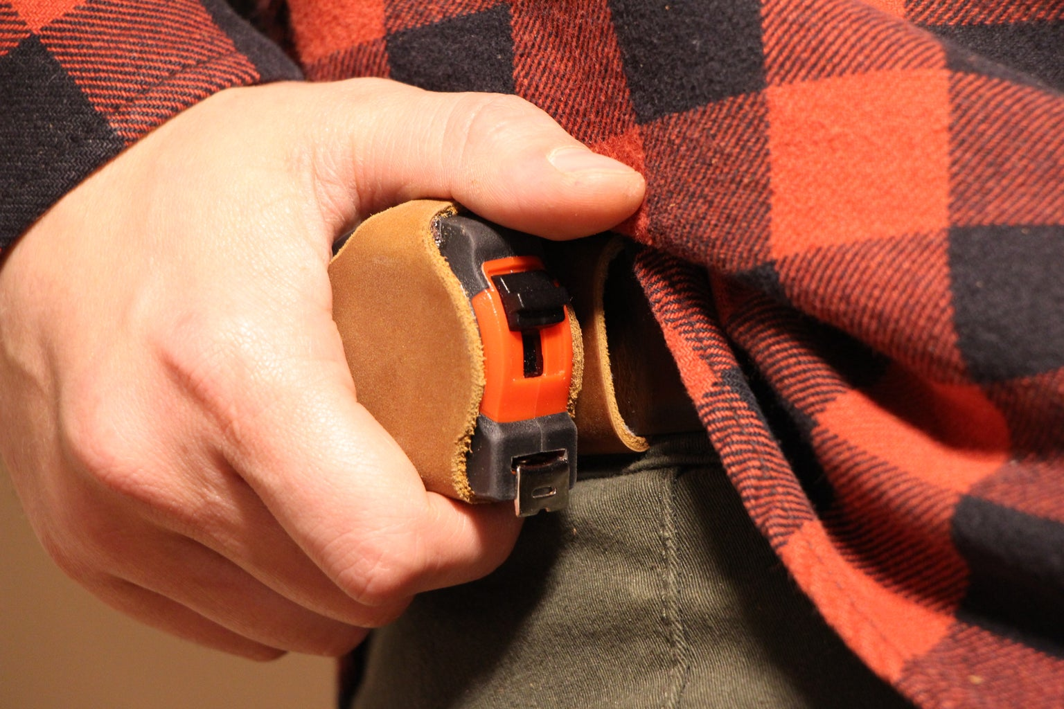 Magnetic Measuring Tape Holster
