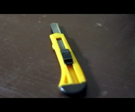 How to make a Knife/Saw for Survival