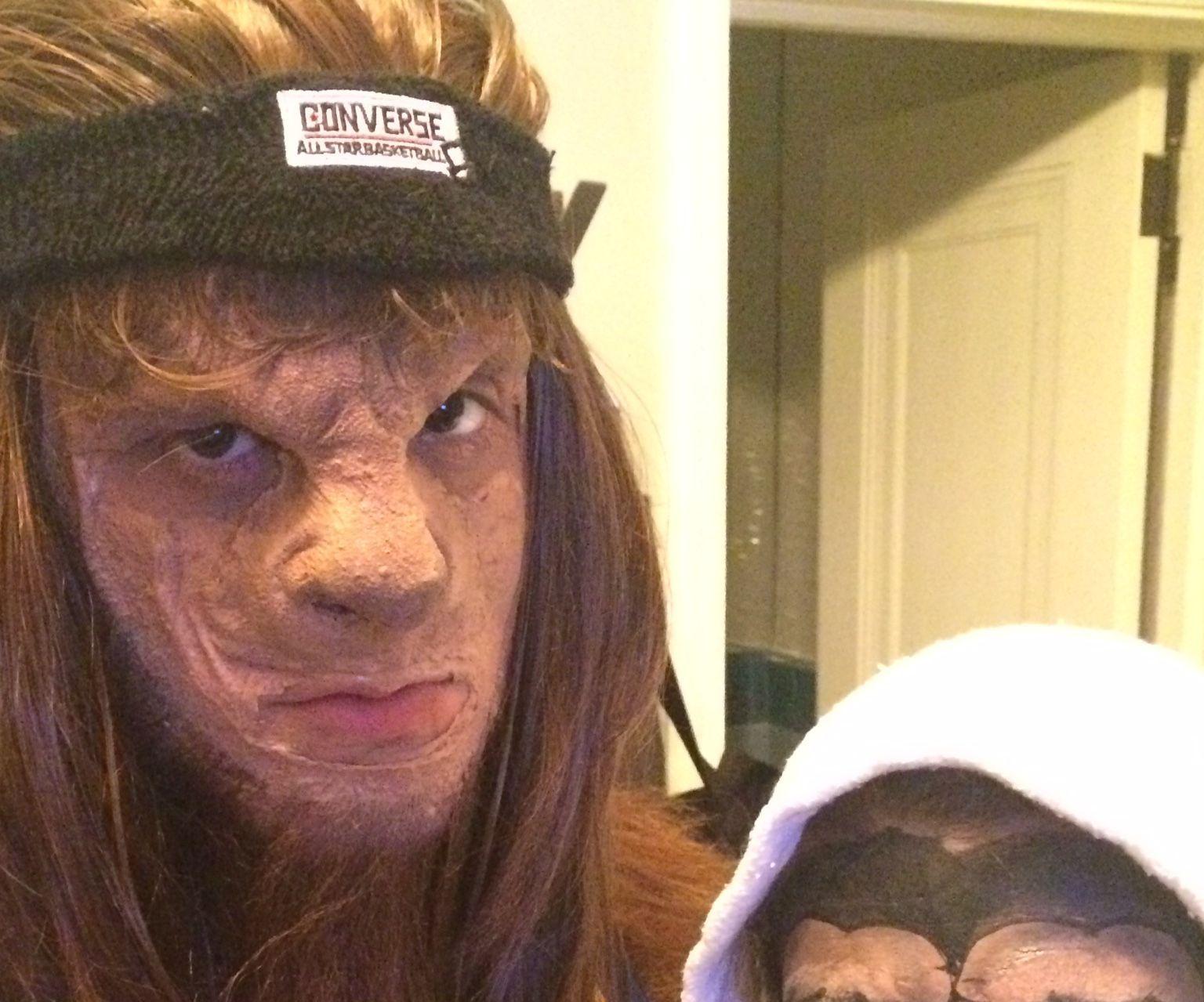 Homemade Teen Wolf Costume