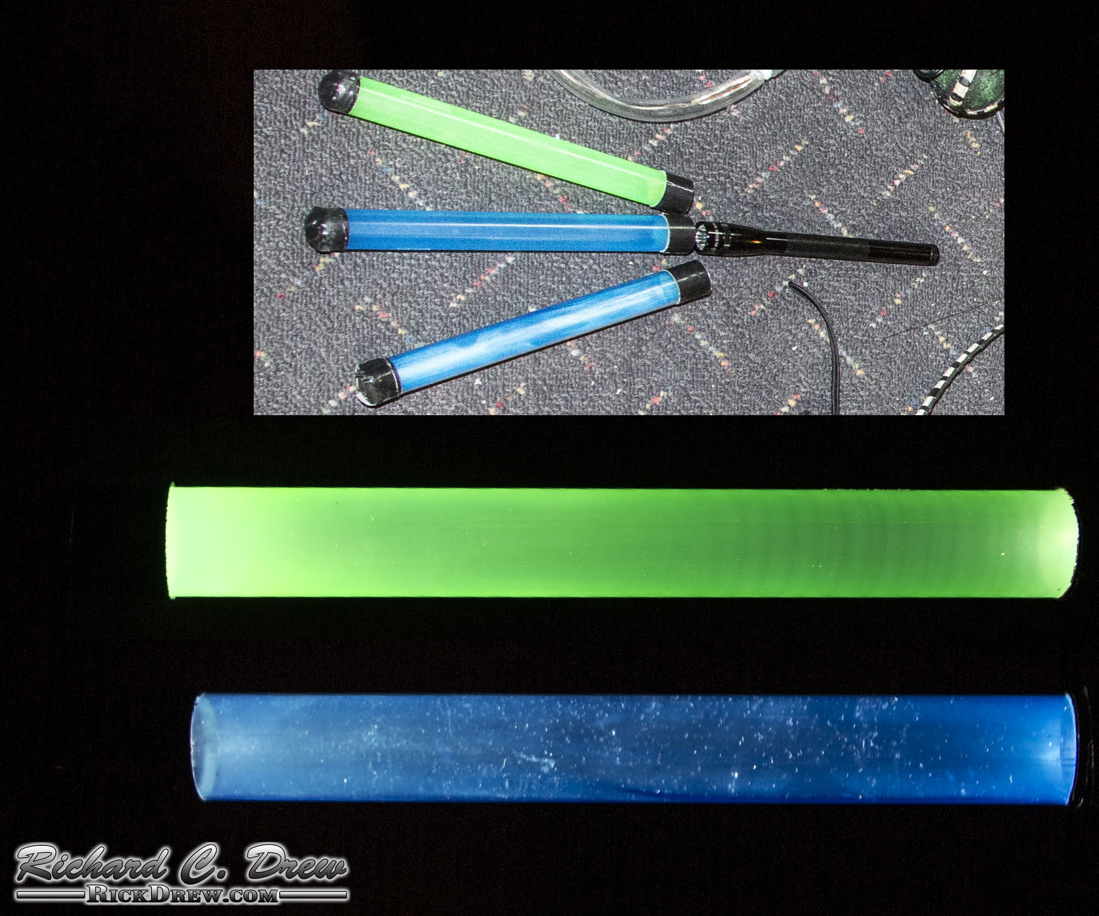 Super Simple $1 Light-Painting Wand