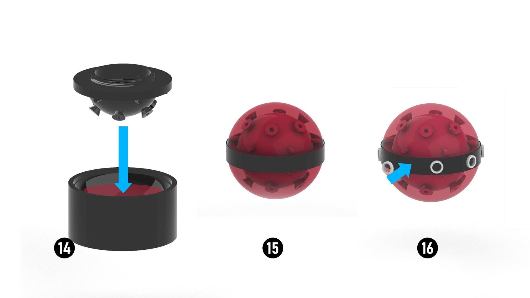 Assembling the Ball