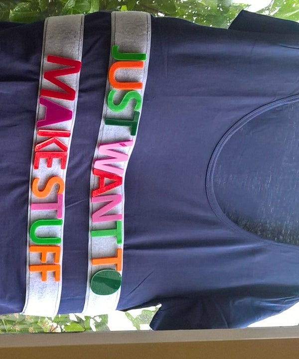 Velcro Message T Shirt
