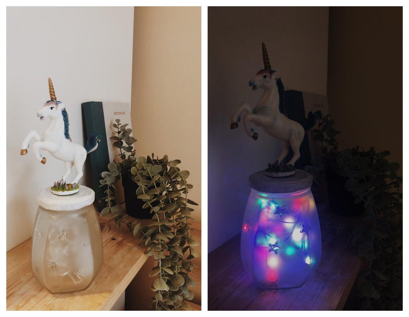 Mesmerising Glass Jar Night Light for Your Superhero Kid!