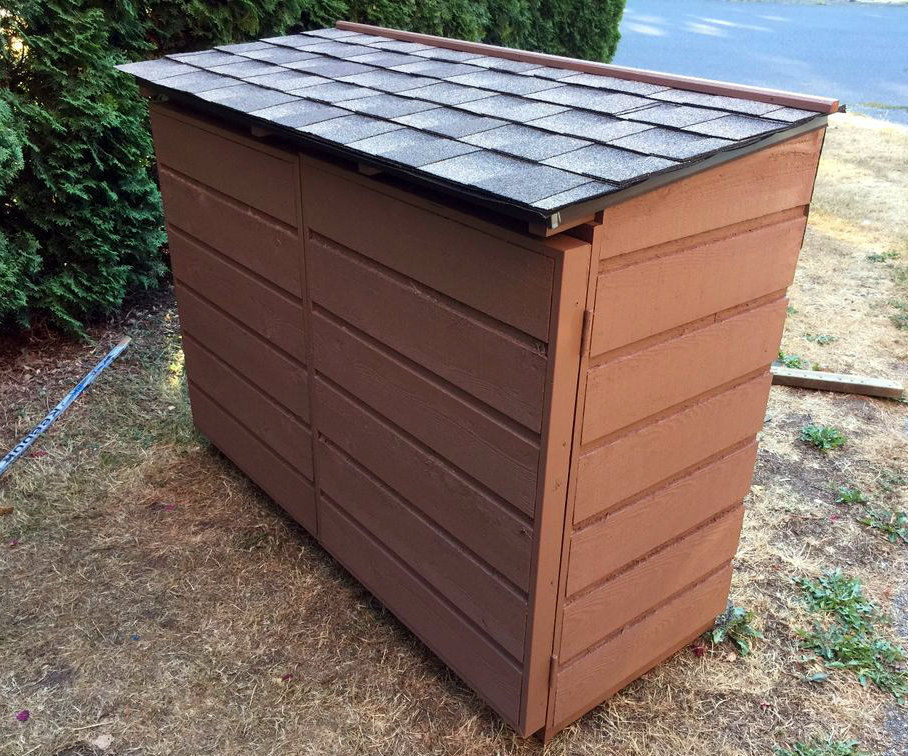 Recycling Shed