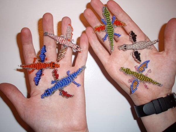 Beaded Dragons