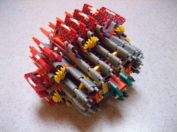 Knex Machine Gun 155 Balls