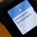 Old Doorbell + Pebble Smartwatch = Smart Old Doorbell