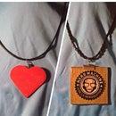 Resin Woodsies Necklaces