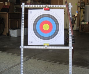 Quick and Cheap Archery Target Frame