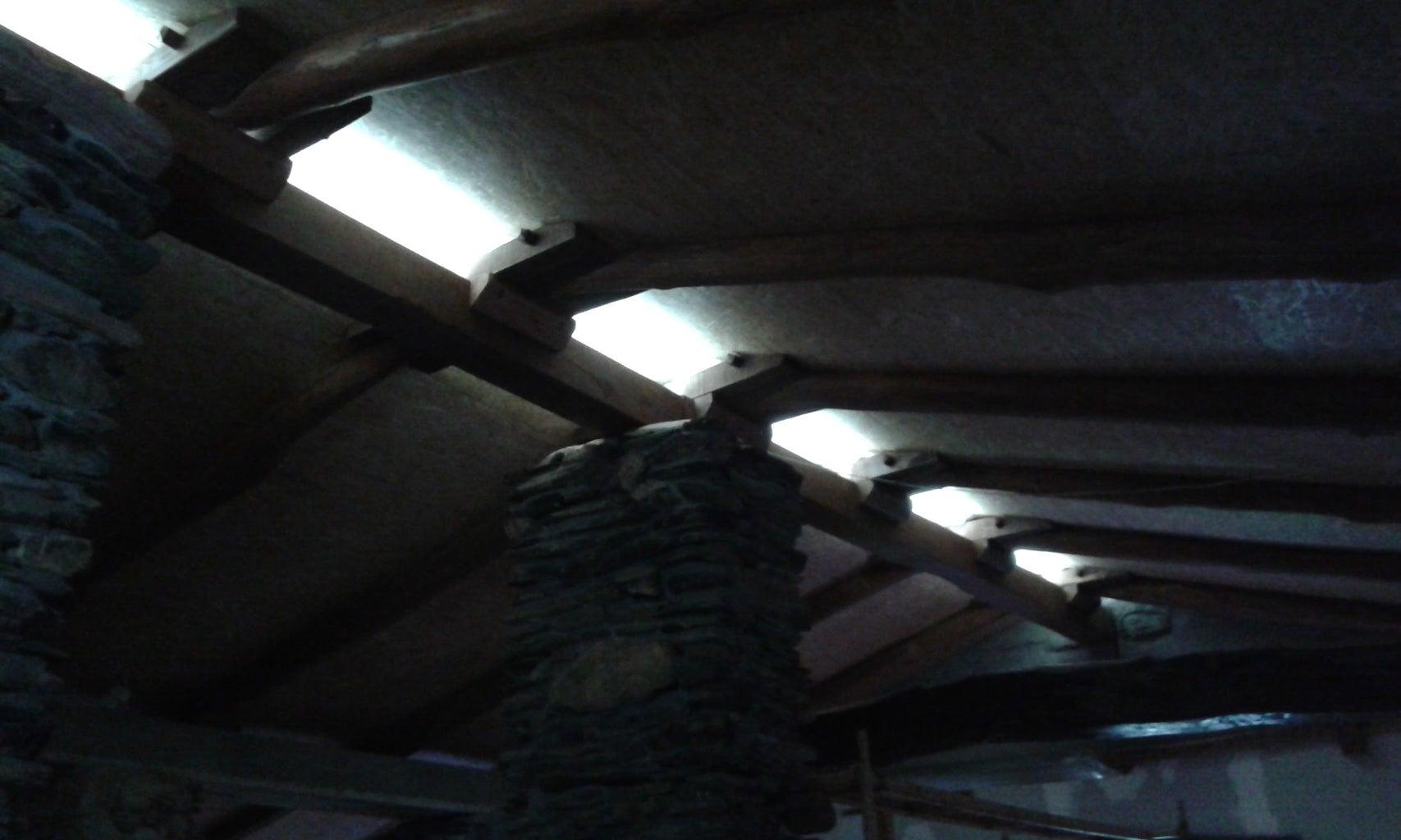 Replacing the Rotten Wood Beams