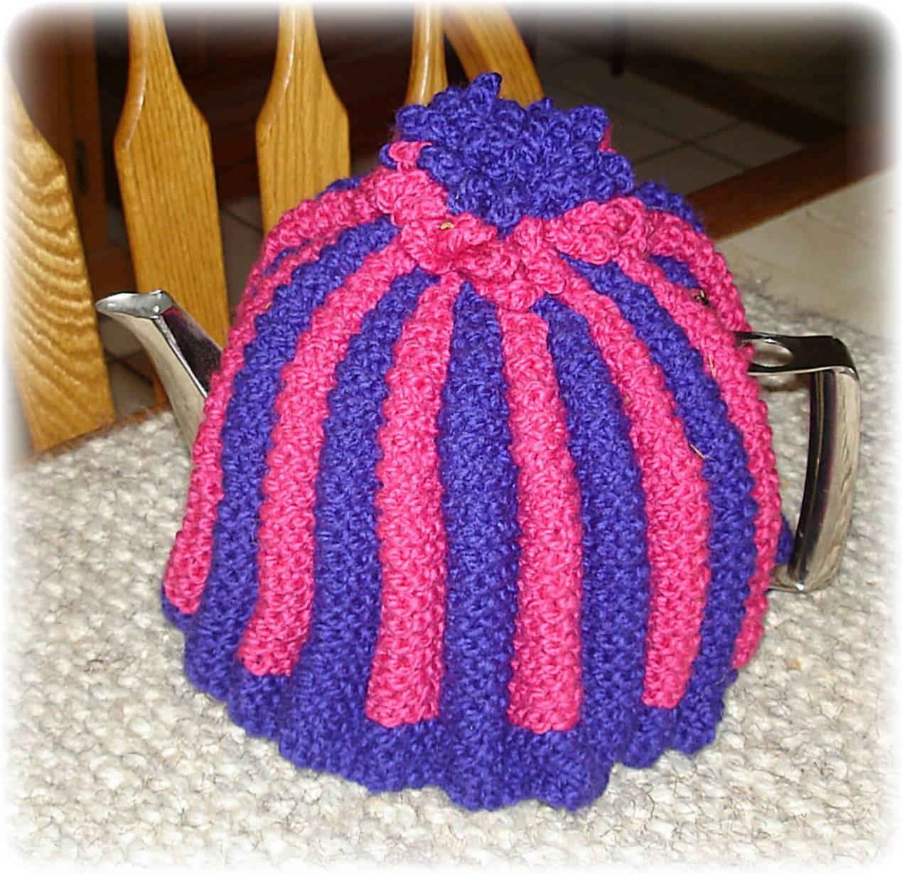 Knitting Pattern for Bobbly Tea Cosy