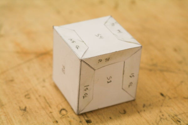 Perfect Paper Cube:  Laying Out a Project Using Parallel Line Development