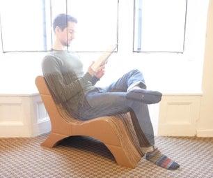 现代纸板椅