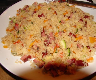 Tasty Cous-Cous Supper....