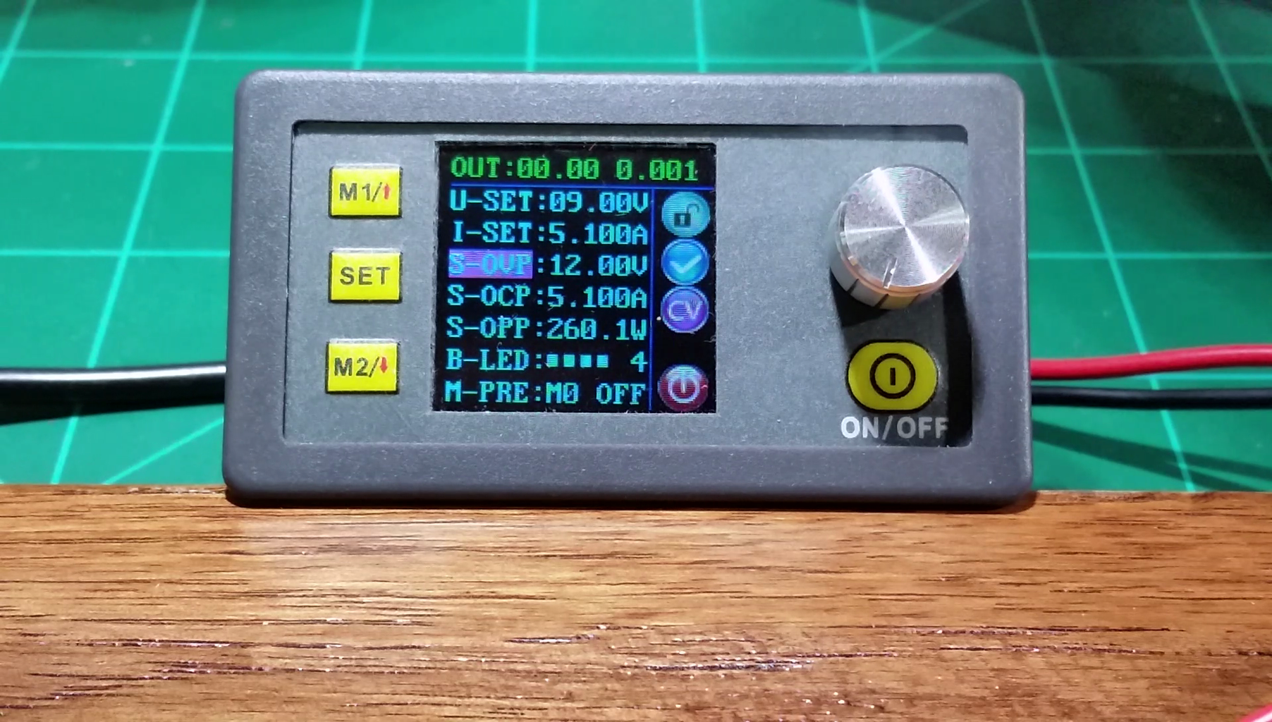 Setting Up OVP - Over Voltage Protection