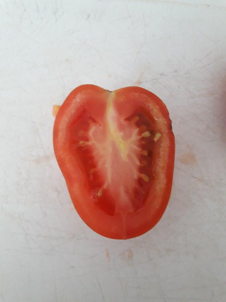 Preparing the Tomatoes