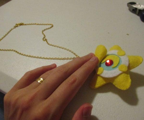 Sailor Moon Star Locket Necklace