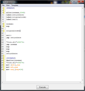 Step 5: Inject the Code Into an Assembler.