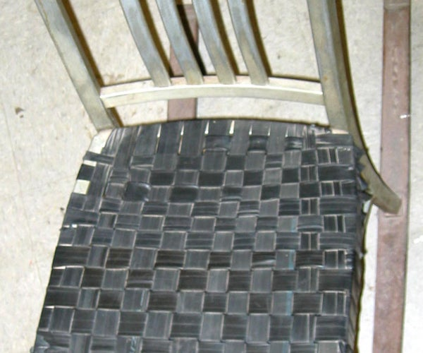 Innertube Chair Seat Caning