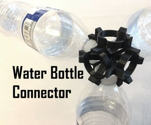 Water Bottle Connector - Recycled Building System