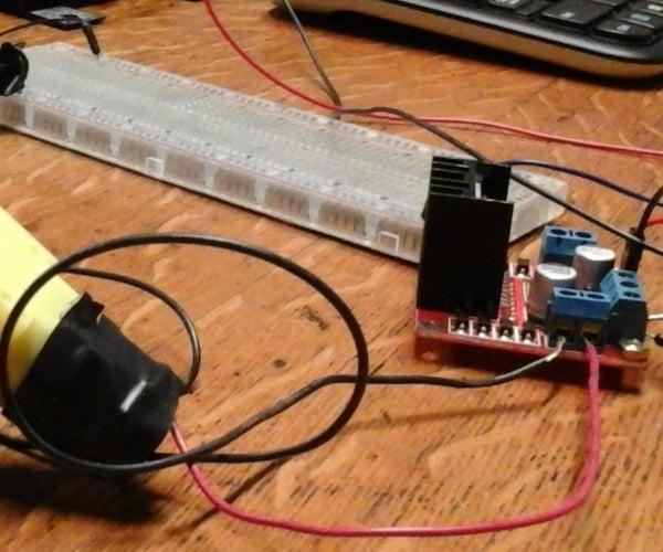 Raspberry PI L298N Dual H Bridge DC Motor