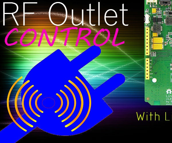 Control Your RF Outlets With LinkIt One