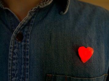 Wearable 3D Glowing Heart!