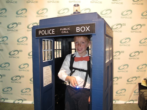 Doctor Who Tardis Costume