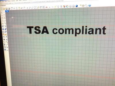"Laser Etch ""TSA Compliant"" Into the Scale"