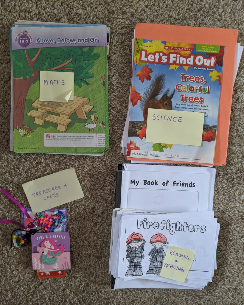 Sorting the Worksheets