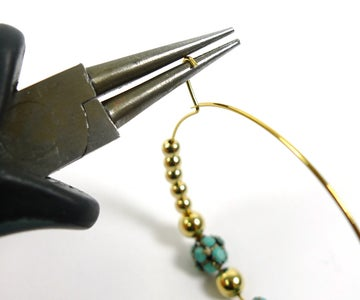 Create a Loop and Attach to Ear Wire