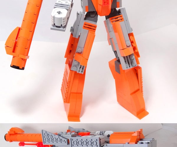 Plasmashock -- NES Zapper / Transformers / LEGO Crossover!