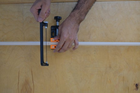 Step 1: Cut the Rod/pipes to Length