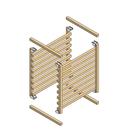 Daiso pillbox small component rack
