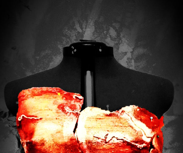 Zombie / Serial Killer Corset