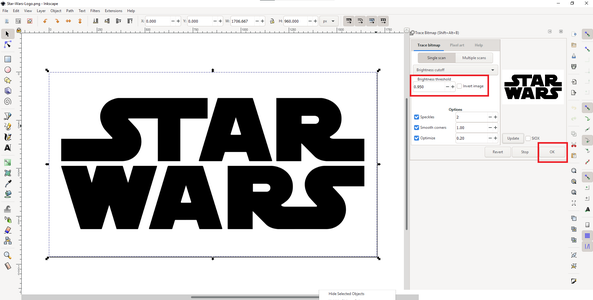 Converting Those Images to Tinkercad Language