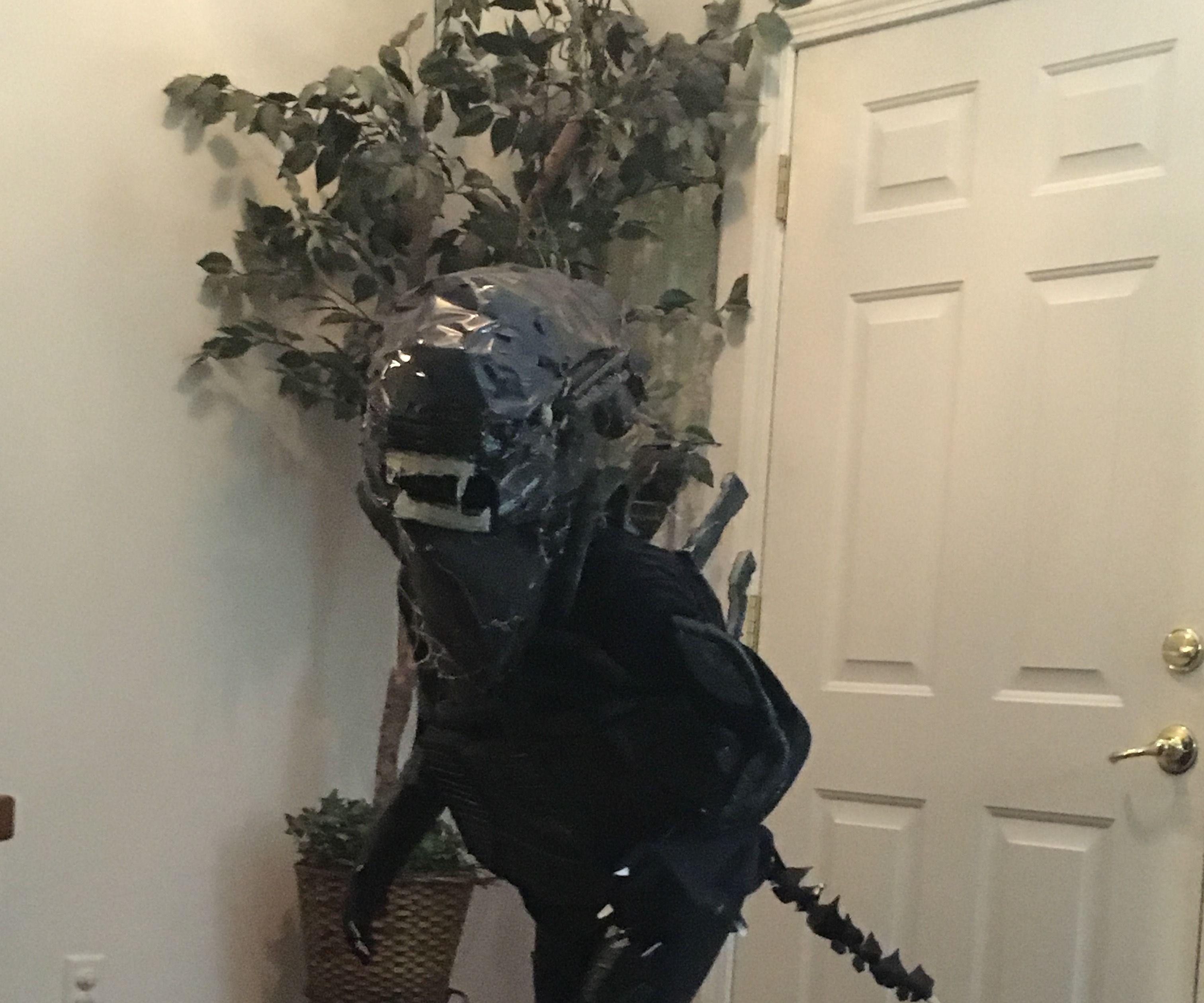 Alien Xenomorph Drone Costume