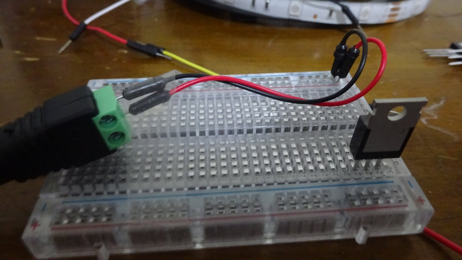 Wiring Up the Mosfets and Connecting the Pi