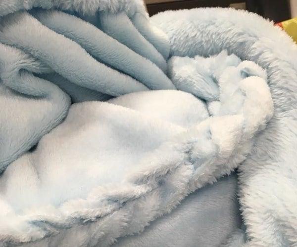 Braid Edge Fleece Blanket