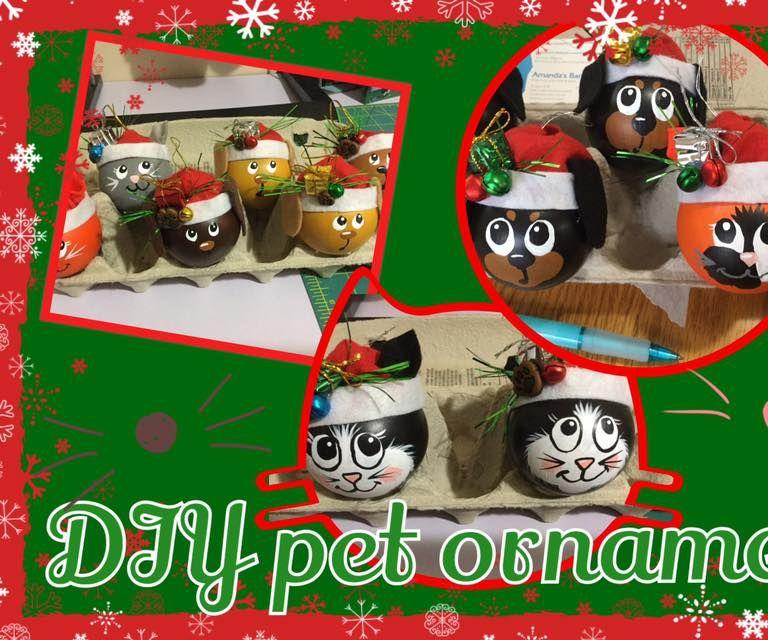 Pet Christmas Ornaments