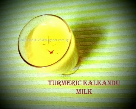 Turmeric sweet milk