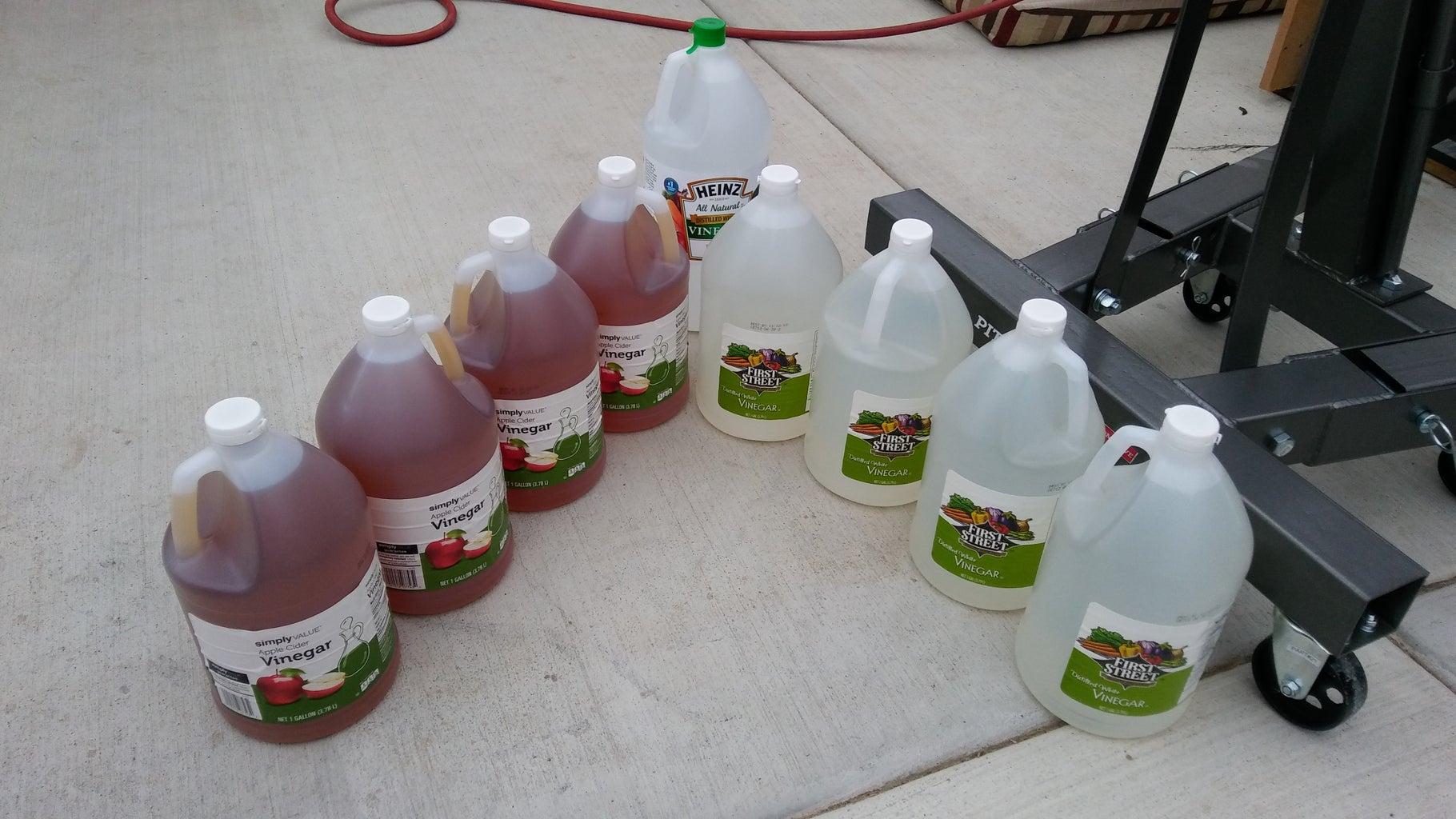 Time for the Vinegar Bath!