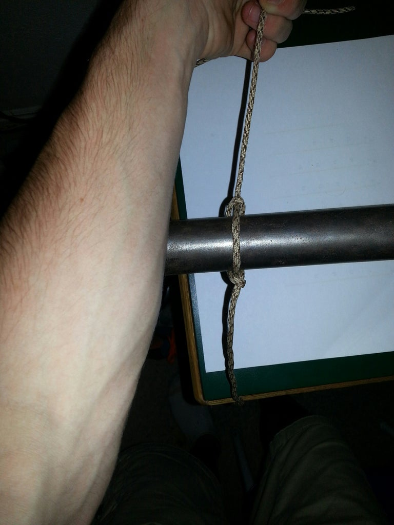 How to Tie a Marlinspike Hitch