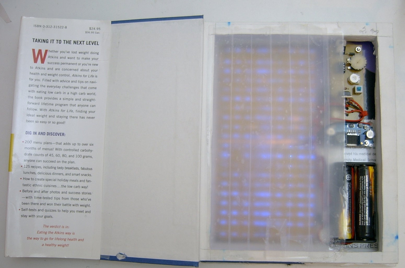 Invisible Tape As a Light Diffuser
