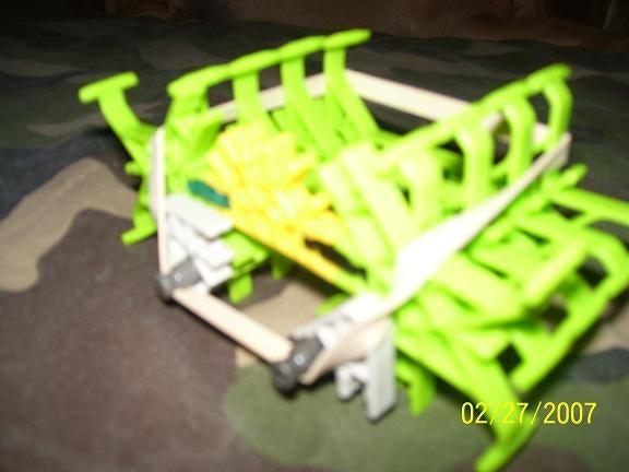 Mean Green KNEX Machine Spider